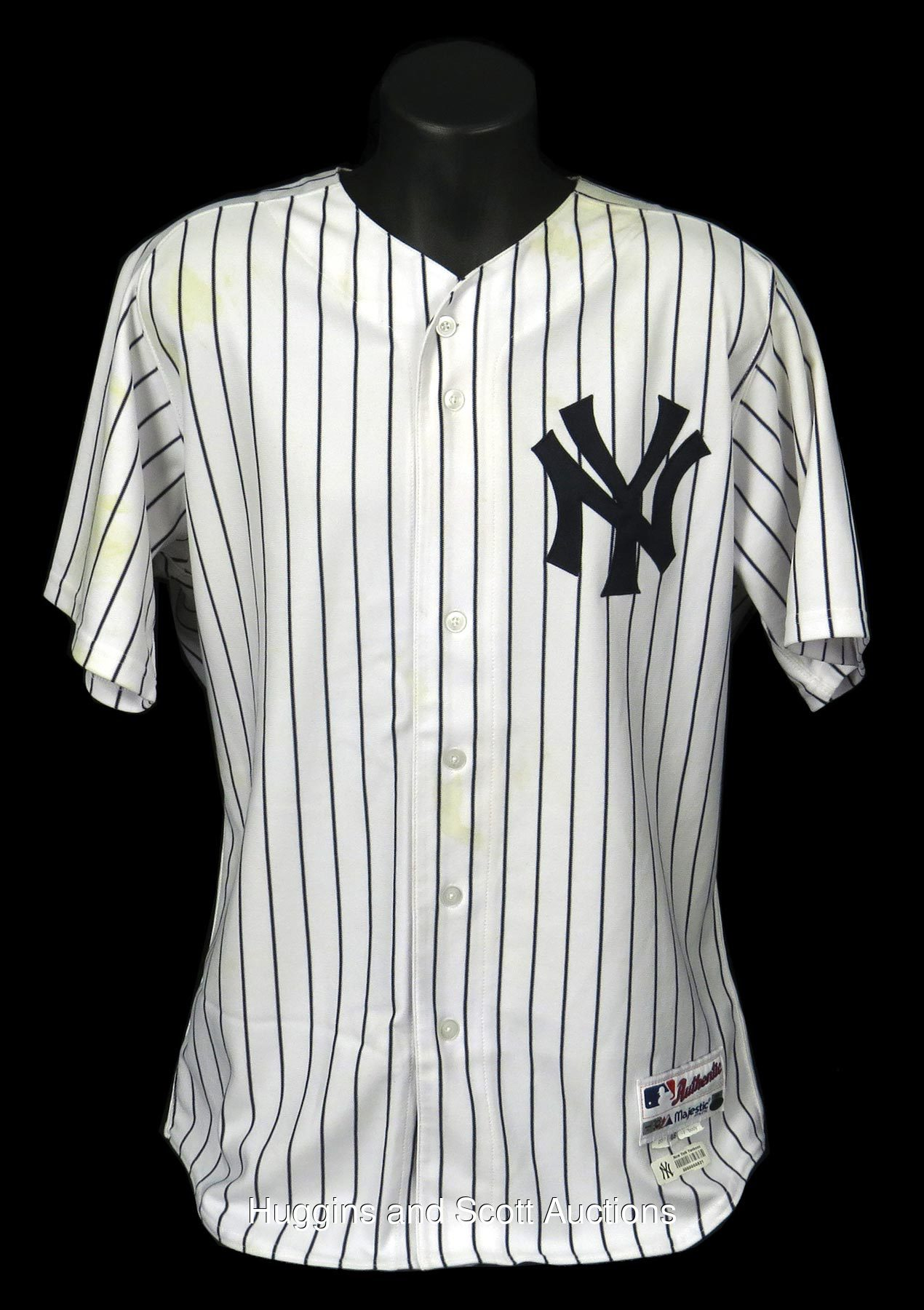 check out 3a724 af668 Brett Gardner 2011 Game-Worn New York Yankees Home Jersey ...